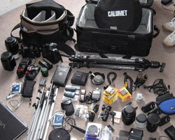 Flying With Camera Gear